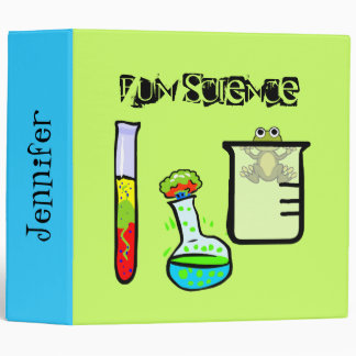 Teacher's Whimsical Science Binder