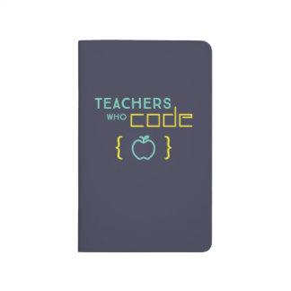 Teachers Who Code Notebook Journal