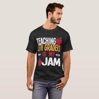 Teaching 5th Graders Is My Jam Cute Teacher T-Shirt