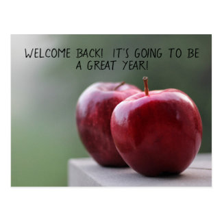 Teaching and School Staff Welcome Back Postcards