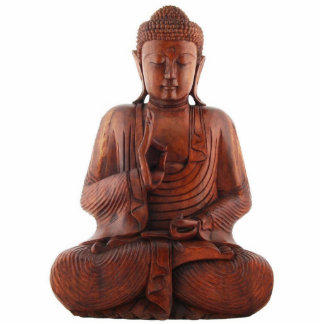 Teaching Buddha Sculpture Standing Photo Sculpture