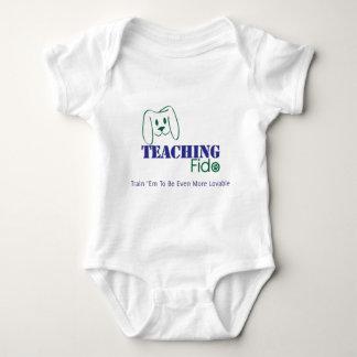 Teaching Fido Logo Wear Baby Bodysuit