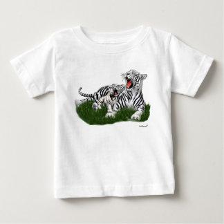 Teaching Her Cub to Roar Baby T-Shirt