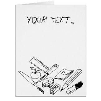 Teaching Materials... Card
