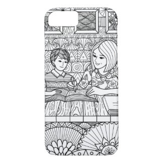 Teaching Mom hand drawn phone case