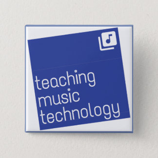 """Teaching Music Technology: Square 2"""" Button"""