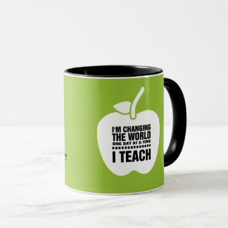 Teaching Quote   Apple  Custom Name Gift Gift Mugs