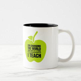 Teaching Quote   Apple  Custom Name Gift Mugs