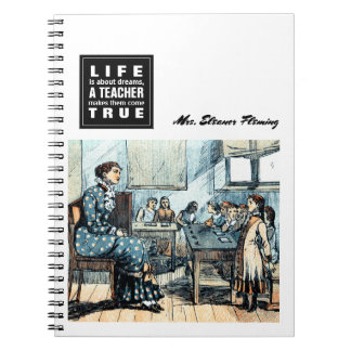 Teaching Quote | Vintage Art Gift Notebooks