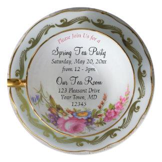Teacup Tea Party Invitation