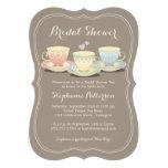 Teacup Trio Chic Bridal Shower Tea Party