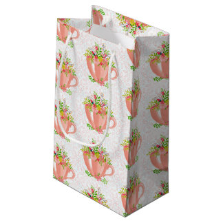 Teacups Small Gift Bag