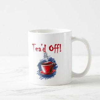Tea'd Off, Tax Day Tea Party Mug