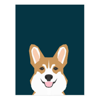 Teagan - Welsh Corgi Postcard