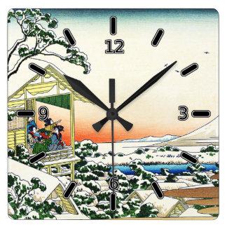 Teahouse at Koishikawa Tea Clock (With Numbers)