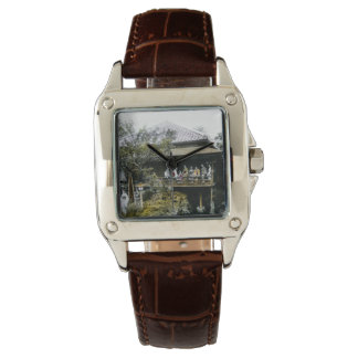 Teahouse Geisha of Old Japan Vintage Japanese Wristwatch