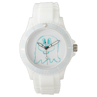 Teal 鬼 鬼 Stainless Steel Wristwatch (Sporty)