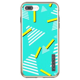 Teal 90s-Inspired-Design Phone Case
