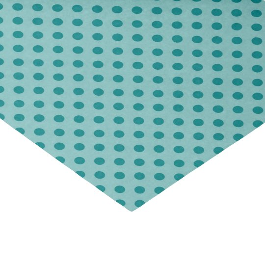 Teal and Blue Glossy Tissue Paper