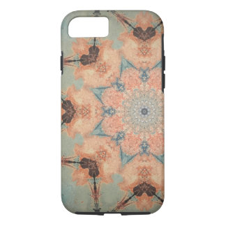 Teal and orange iPhone 8/7 case