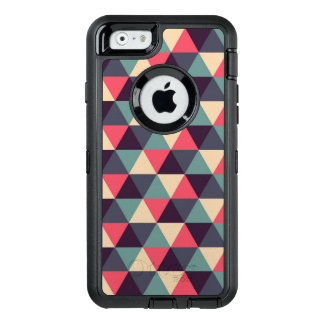 Teal And Pink Triangle Pattern OtterBox iPhone 6/6s Case