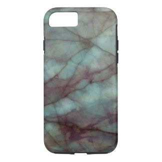 Teal and Purple Fluorite Marble Case-Mate iPhone Case