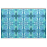 Teal Aqua Blue Teal Watercolor Texture Pattern Fabric
