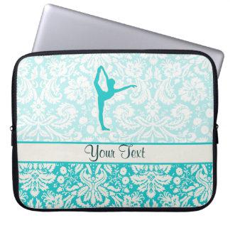 Teal Ballet Laptop Sleeves