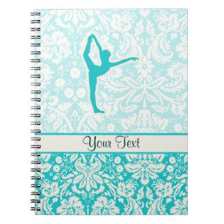 Teal Ballet Notebook