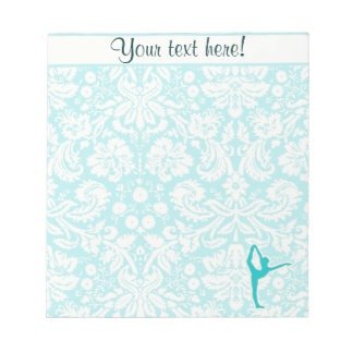 Teal Ballet Notepads
