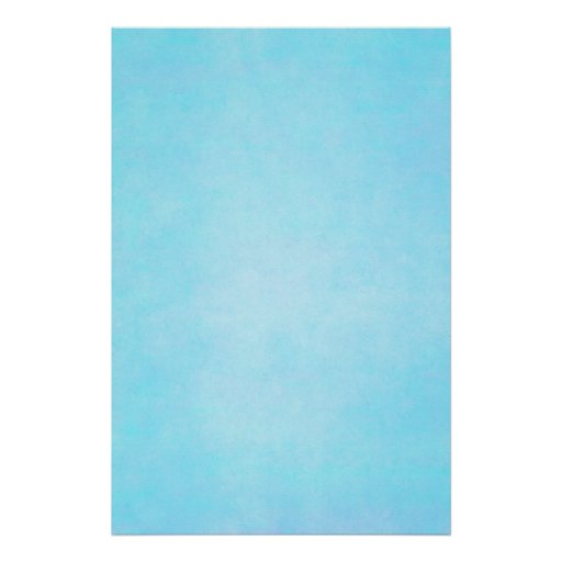 Teal Blue Light Watercolor Template Blank Poster
