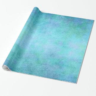 Teal Blue, Purple, Aqua, and Violet Watercolor