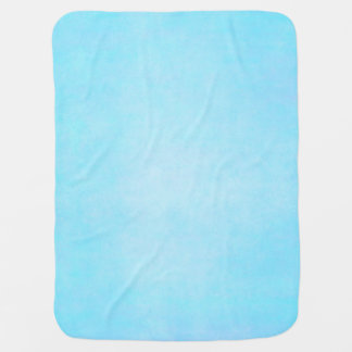 Teal Blue Watercolor Aqua Water Color Background Baby Blanket
