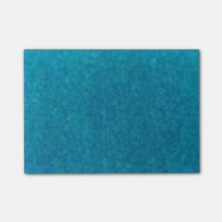 Teal Blue Watercolor Aqua Water Color Background Post-It Note