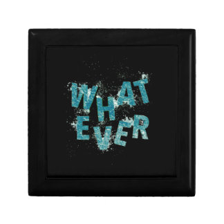 Teal Blue Whatever Gift Box