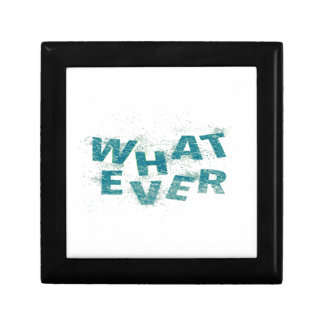 Teal Blue Whatever PNG Gift Box