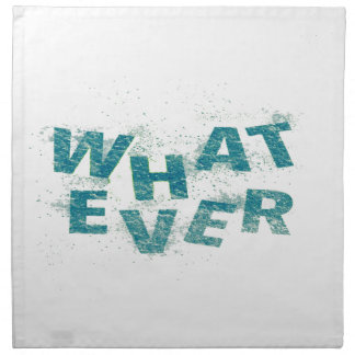 Teal Blue Whatever PNG Napkin