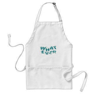 Teal Blue Whatever PNG Standard Apron