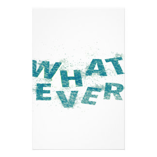 Teal Blue Whatever PNG Stationery