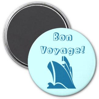 Teal Bon Voyage Magnet