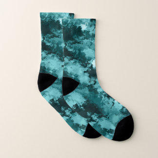 Teal Camo Camouflage 1