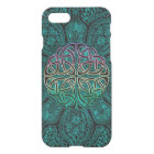 Teal Celtic Mandala iPhone 7 Case