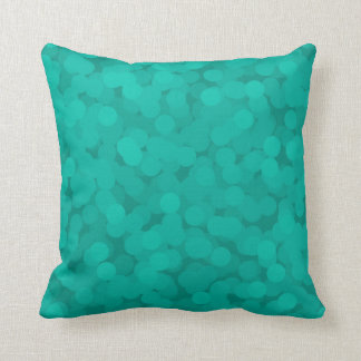 Teal Champagne Bubbles Pillows