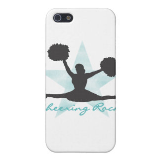 Teal Cheering Rocks and Gifts Case For iPhone 5/5S