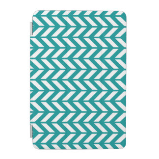 Teal Chevron 4 iPad Mini Cover