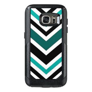 Teal Chevron Pattern OtterBox Samsung Galaxy S7 Case