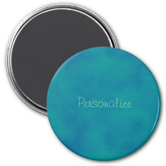 Teal Clouds Magnet