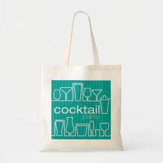 Teal cocktail party