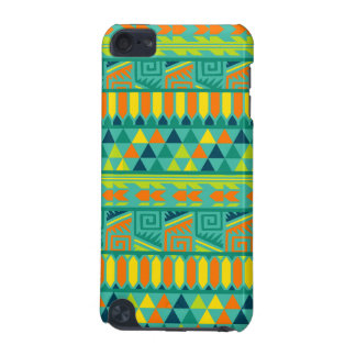 Teal Colorful Abstract Aztec Tribal Print Pattern iPod Touch (5th Generation) Cover