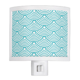 Teal Corals Night Light